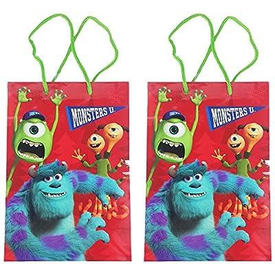 Set of 2 Monsters University Christmas Themed Gift Bags