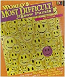 World's Most Difficult Jigsaw Puzzle; Smiley Faces, Double Sided Puzzle by Buffalo Games