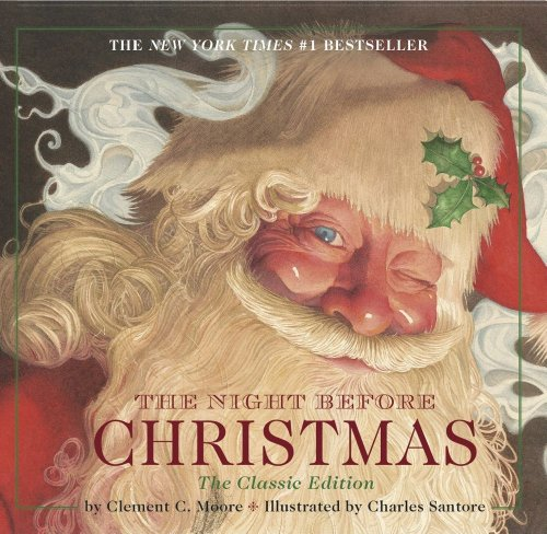 Night Before Christmas board book: The Classic