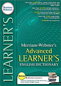 Merriam Webster's Advanced Learner's English Dictionary- Classroom  Site License 15 users... by Fogware Publishing