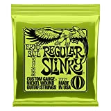 Ernie Ball Regular Slinky Nickel Wound Set, .010 - .046