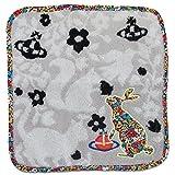 ヴィヴィアン ウエストウッド Vivienne Westwood ハンカチ ハンドタオル タオルハンカチ タオル オーブ刺繍 うさぎ モチーフ レディース 並行輸入品 AMI585