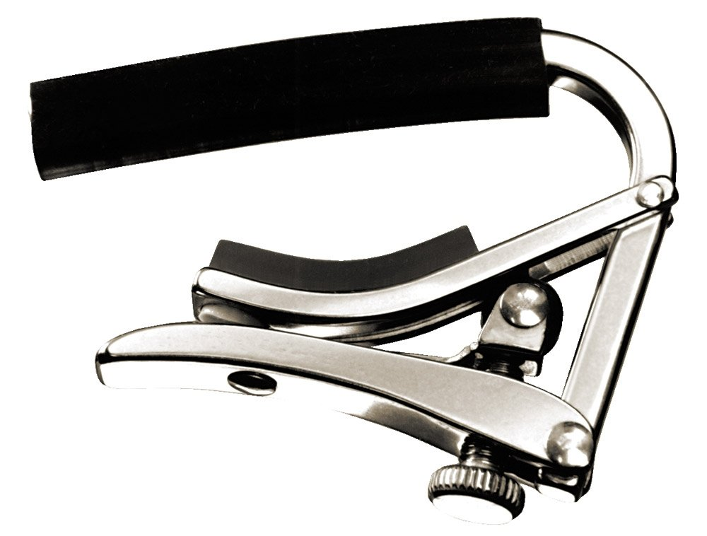 how to put a capo on a guitar