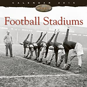 Football Stadiums wall calendar 2015 (Art calendar) (Flame Tree Publishing)