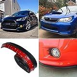 Gummi - Stoßstange Flex Dura Rand Streifen Kinn Schutz Seitenschweller Frontspoilerlippe   für Most Car