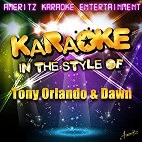 Knock Three Times (In the Style of Tony Orlando & Dawn) [Karaoke Version]