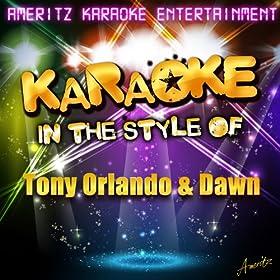 Knock Three Times (In the Style of Tony Orlando & Dawn) [Karaoke Version]