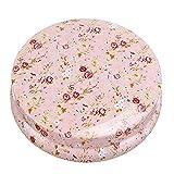 New New Iron Floral Tin Jewelry Storage Box Earphone SD Card Case Storage Bag Beauty Bathroom Decoration Style 5