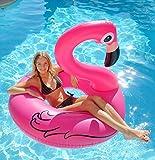 Kerlis Le Flamant Bouée gonflable pour piscine Rose