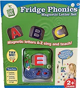 Amazoncom leapfrog fridge phonics magnetic letter set for Letter fridge magnets game