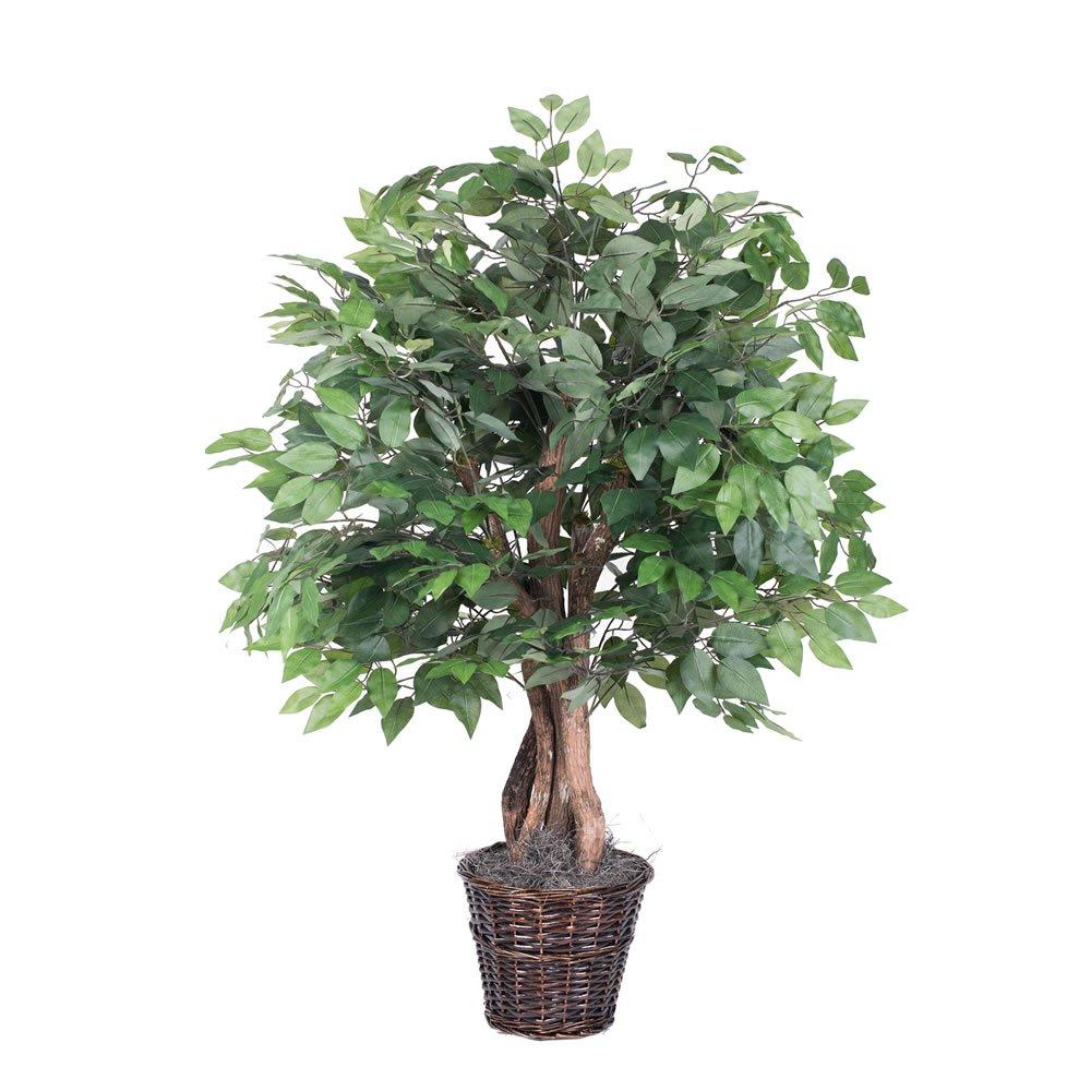 Vickerman TXX0140 TXX0140 Everyday Ficus Bush, Green Dark, 4