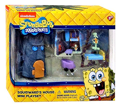 Spongebob Squarepants Squidward's House Mini Playset