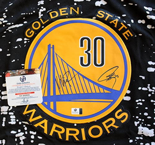 Golden State Warriors Autographed Jersey Warriors Signed