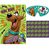 Scooby Doo Party Game Pin The Dog Tag on Scooby