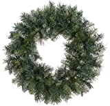 Allstate Unlit Mixed Sugen Pine Artificial Christmas Wreath, 24""