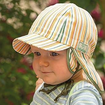PICKAPOOH Baby/Kinder Sonnenhut Tom aus Bio-Baumwolle