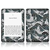 TaylorHe Vinyl Skin Decal for Amazon Kindle Paperwhite Ultra-slim protection for Kindle MADE IN BRITAIN FREE UK DELIVERY Design of Dragons and Waves