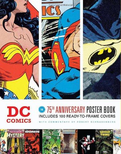 DC 75th Anniversary Poster Book