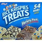 Kellogg's Rice Krispies Treats 54 Bars Variety Pack