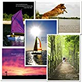 Birthday Cards: Quotations Assortment - box of 10 cards and envelopes, 2 each of 5 different designs
