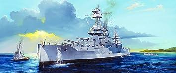 Maquette Navire : Cuirassier US BB-34 USS New-York