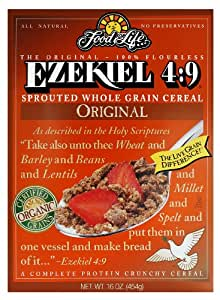 Food for Life Ezekiel 4:9 Organic Original Cereal, 15 Pound Box