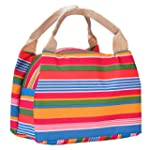 Oxford Stoff Lunchtasche Tote Lunch B...