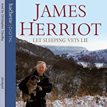 Let Sleeping Vets Lie Audiobook by James Herriot Narrated by Christopher Timothy