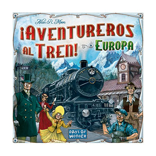 ¡Aventureros al Tren! – Juego de mesa (Edge Entertainment EDGDW7202)