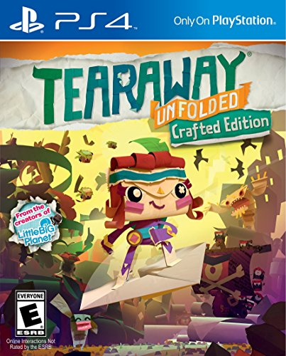 Tearaway Unfolded - PlayStation 4
