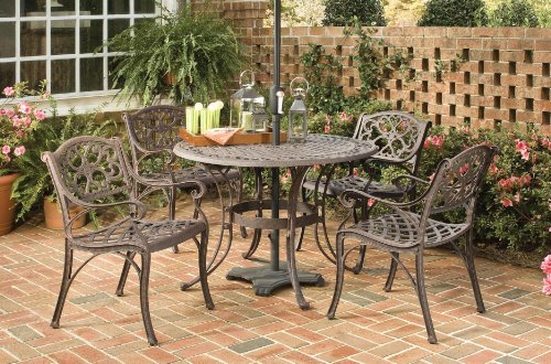 Patio Sets Clearance: Home Styles 5555-308 Biscayne 5