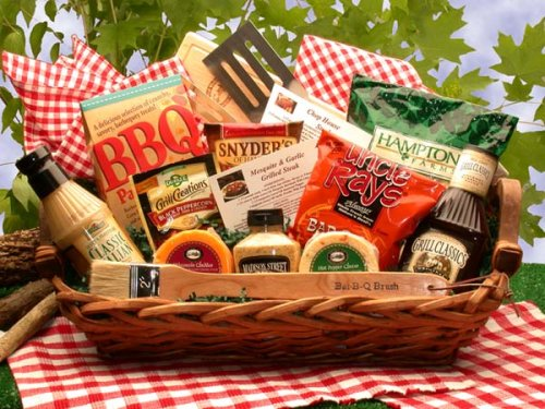 Bbq Gift: Grill Master BBQ Gift Basket