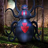 HALLOWEEN BLOWOUT SALE 12 Foot Tall Halloween Giant Inflatable Spider / Halloween / Halloween Decoration / Holidayana