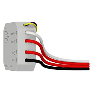 Insteon Micro Open/Close Motor Inline Module, 2444-222 - Insteon Hub required for voice control with Alexa & Google Assistant (Color: White)