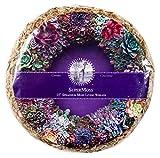 "SuperMoss (22343) Sphagnum Moss Living Wreath - Round, Natural/Organic, 15 Diameter"""