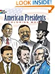 American Presidents Coloring Book (Do...