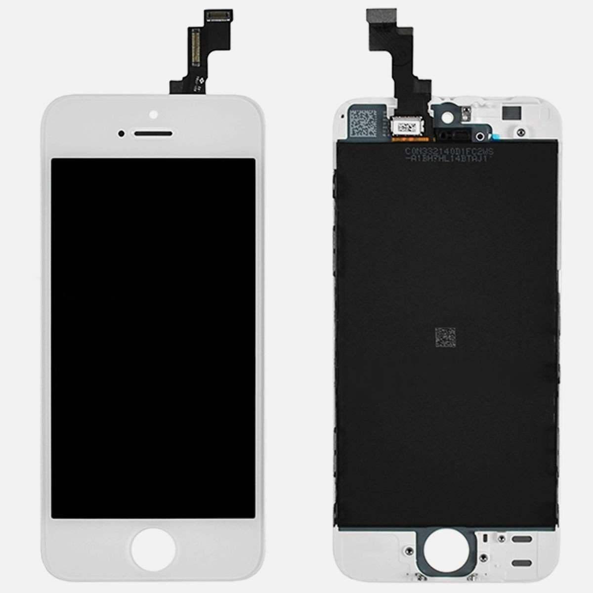 OEM White Retina LCD Touch Screen Digitizer Glass Replacement Full Assembly for iPhone 5S