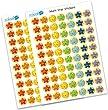 Multi Star Reward Stickers