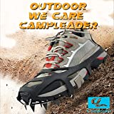 Campleader ® Crampon 2015 Spring Traction Cleats for Snow and Ice Safe Protect Shoes (Ergonomic Fifth Edition)(campleader.net)