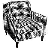 Skyline Furniture Arm Chair, Berne Black