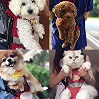 OLizee Portable Pet Carrier Backpack Legs Out Front Dog Carrier Hands Free Pet Travel Carrier