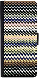 Snoogg Super Coloured Wave Pattern 2511 Designer Protective Flip Case Cover F...