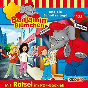 Benjamin Blümchen und die Schnitzeljagd (Benjamin Blümchen 128) Hörspiel