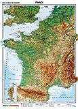 XXL Frankreich physisch (Französische Ausgabe) (Wenschow Karten)