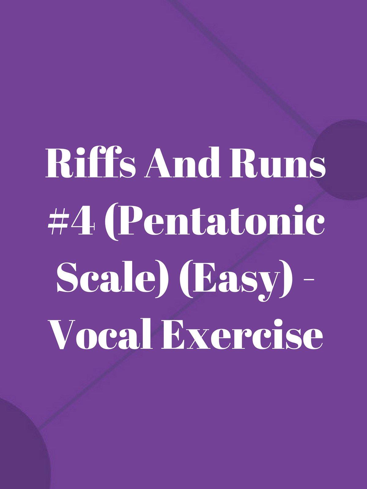 Riffs And Runs #4 (Pentatonic Scale) (Easy)