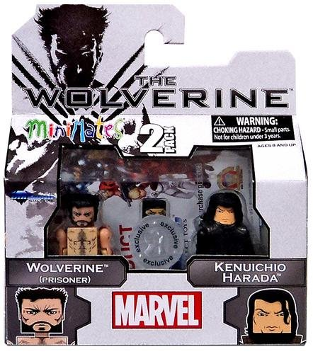 The Wolverine Minimates 2 Pack, Wave 1: Wolverine (Prisoner) & Kenuichio Harada (The Archer)