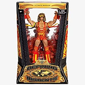 WWE Defining Moments Ultimate Warrior Figure - Ultimate Maniacs