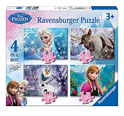 Ravensburger Disney Frozen Jigsaw Puzzles (Pack of 4)