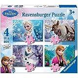 Ravensburger Disney Frozen Jigsaw Puzzles (Pack of 4)