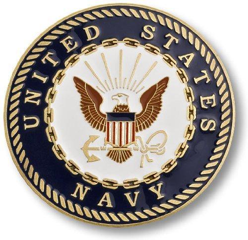 "U.S. Navy Adhesive Medallion 1 3/4"""